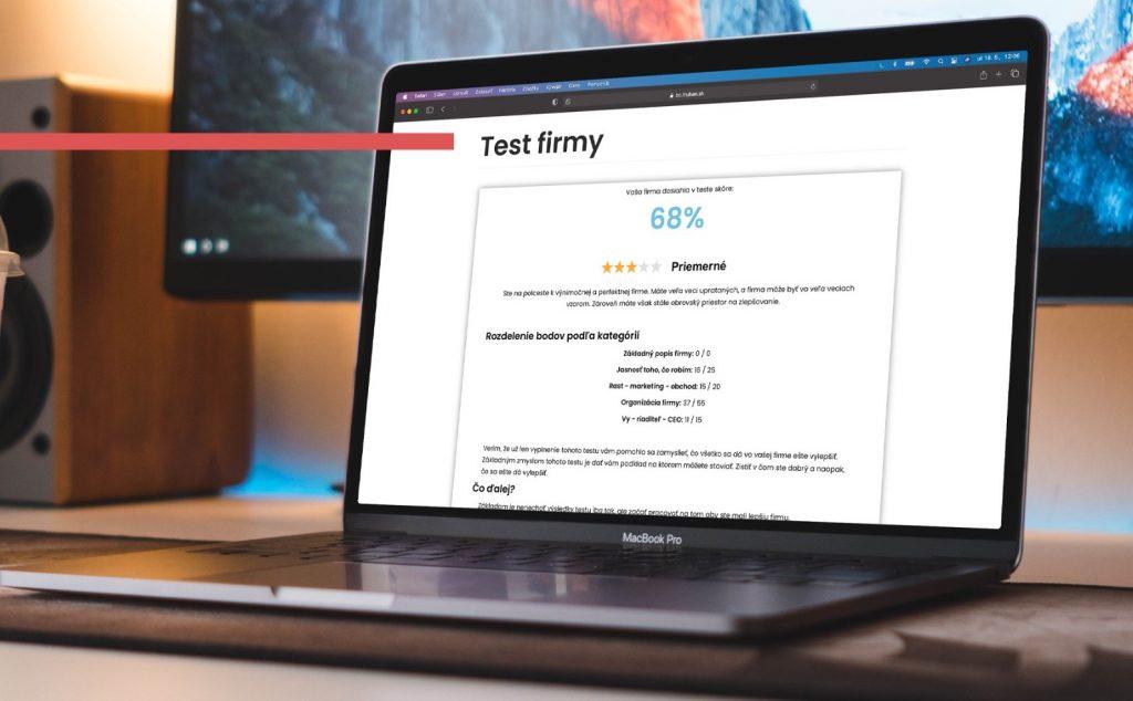 Test: Aká dobrá je vaša firma?